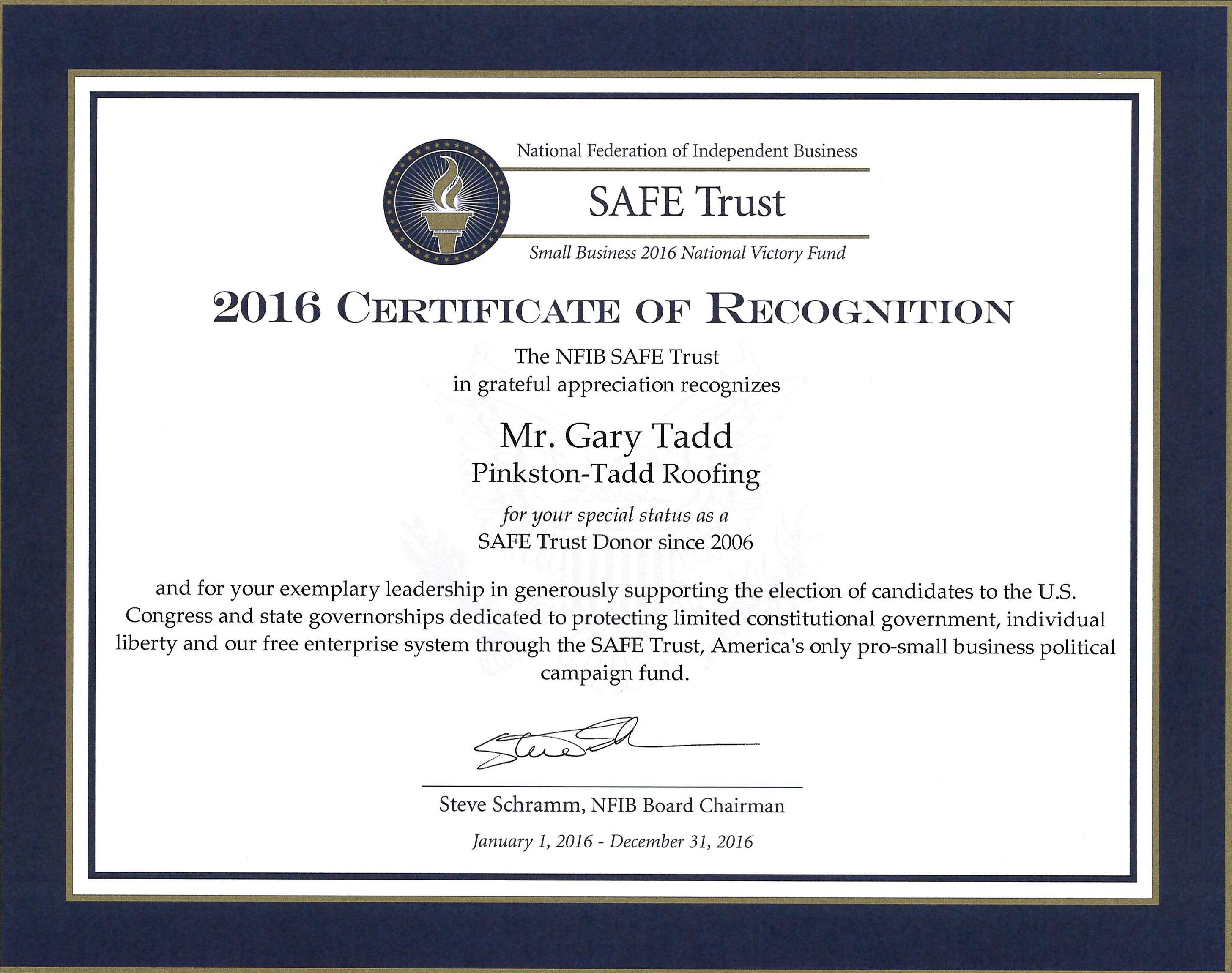 SAFE Trust